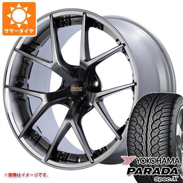サマータイヤ 235/55R20 102V ヨコハマ パラダ スペック-X PA02 BBS RI-S 8.5-20 タイヤホイール4本セット