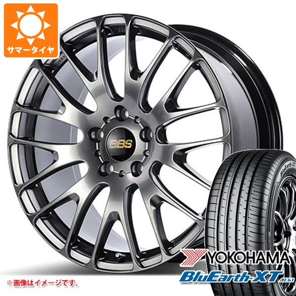 サマータイヤ 235/55R20 102V ヨコハマ ブルーアースXT AE61 BBS RN 8.5-20 タイヤホイール4本セット