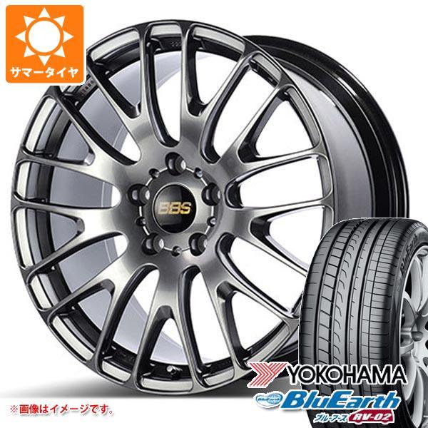 サマータイヤ 245/40R20 99W XL ヨコハマ ブルーアース RV-02 BBS RN 8.5-20 タイヤホイール4本セット