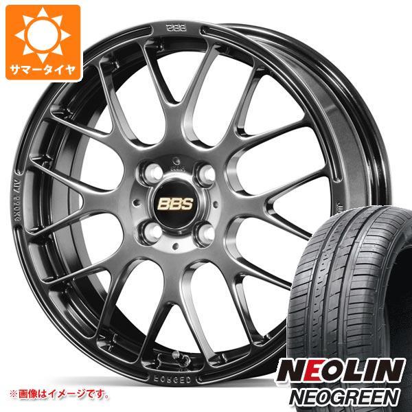 サマータイヤ 185/55R15 82V ネオリン ネオグリーン BBS RP 6.0-15 タイヤホイール4本セット
