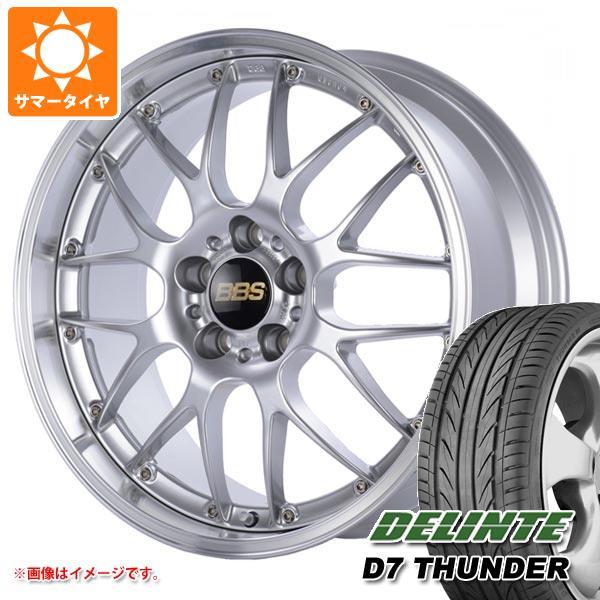 サマータイヤ 245/40R19 98W XL デリンテ D7 サンダー BBS RS-GT 8.5-19 タイヤホイール4本セット