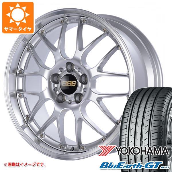 サマータイヤ 215/45R17 91W XL ヨコハマ ブルーアースGT AE51 BBS RS-GT 7.0-17 タイヤホイール4本セット