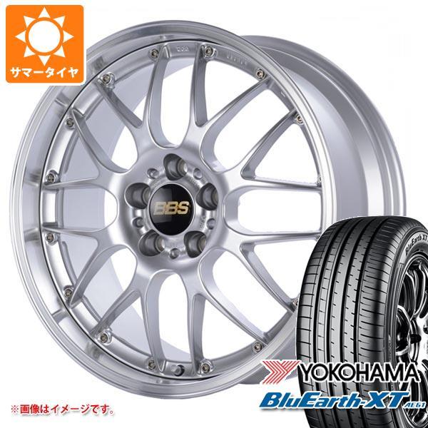 サマータイヤ 235/55R19 101V ヨコハマ ブルーアースXT AE61 BBS RS-GT 8.0-19 タイヤホイール4本セット