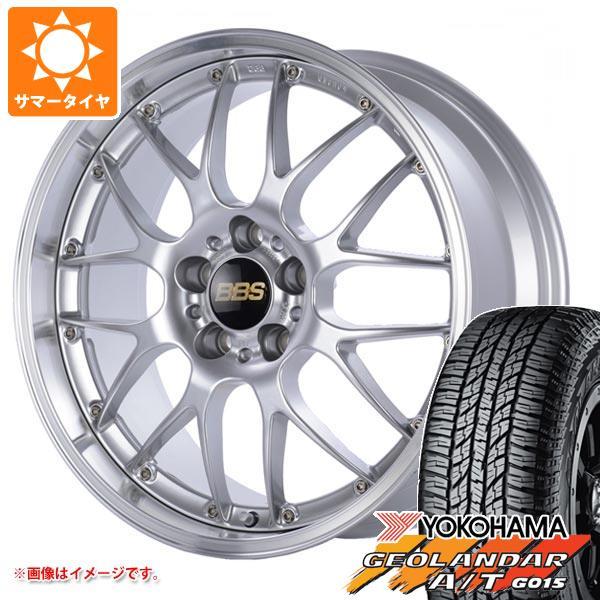 サマータイヤ 235/55R19 105H XL ヨコハマ ジオランダー A/T G015 ブラックレター BBS RS-GT 8.0-19 タイヤホイール4本セット