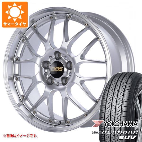 サマータイヤ 235/55R19 101V ヨコハマ ジオランダーSUV G055 BBS RS-GT 8.0-19 タイヤホイール4本セット