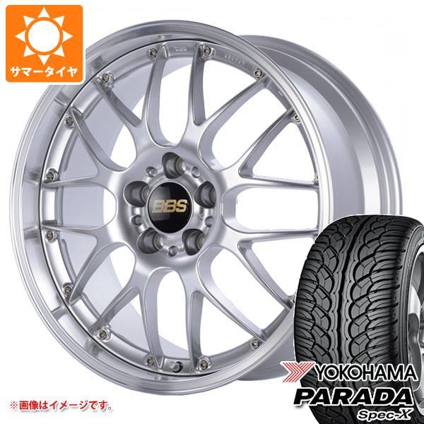 サマータイヤ 235/55R20 102V ヨコハマ パラダ スペック-X PA02 BBS RS-GT 8.5-20 タイヤホイール4本セット