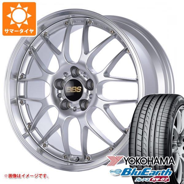 サマータイヤ 235/60R18 103W ヨコハマ ブルーアース RV-02 BBS RS-GT 8.0-18 タイヤホイール4本セット