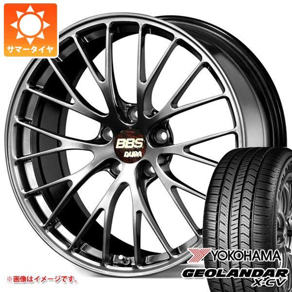 サマータイヤ 235/55R19 105W XL ヨコハマ ジオランダー X-CV G057 BBS RZ-D 8.5-19 タイヤホイール4本セット