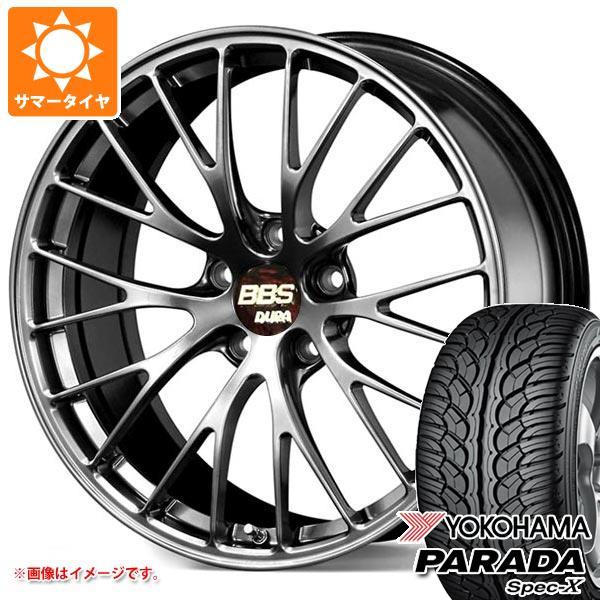 サマータイヤ 235/55R20 102V ヨコハマ パラダ スペック-X PA02 BBS RZ-D 8.5-20 タイヤホイール4本セット