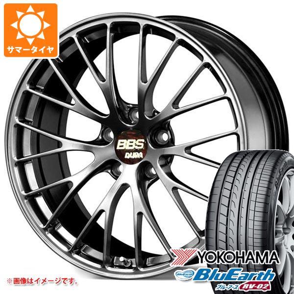 2020年製 サマータイヤ 225/45R19 96W XL ヨコハマ ブルーアース RV-02 BBS RZ-D 8.5-19 タイヤホイール4本セット