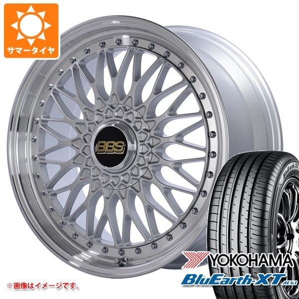 サマータイヤ 235/55R20 102V ヨコハマ ブルーアースXT AE61 BBS SUPER-RS 8.5-20 タイヤホイール4本セット