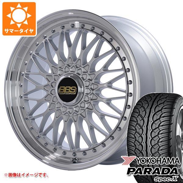 サマータイヤ 235/55R20 102V ヨコハマ パラダ スペック-X PA02 BBS SUPER-RS 8.5-20 タイヤホイール4本セット