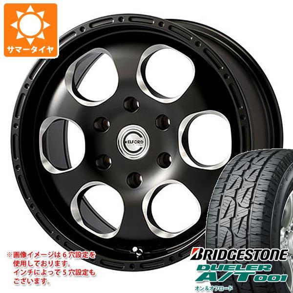 サマータイヤ 215/70R16 100S ブリヂストン デューラー A/T 001 ブラックレター ブラッドストック ワンピース 7.0-16 タイヤホイール4本セット