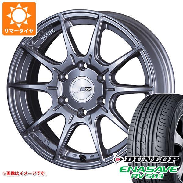 ハイエース 200系専用 サマータイヤ ダンロップ RV503 215/60R17C 109/107L SSR ディバイド X01H タイヤホイール4本セット