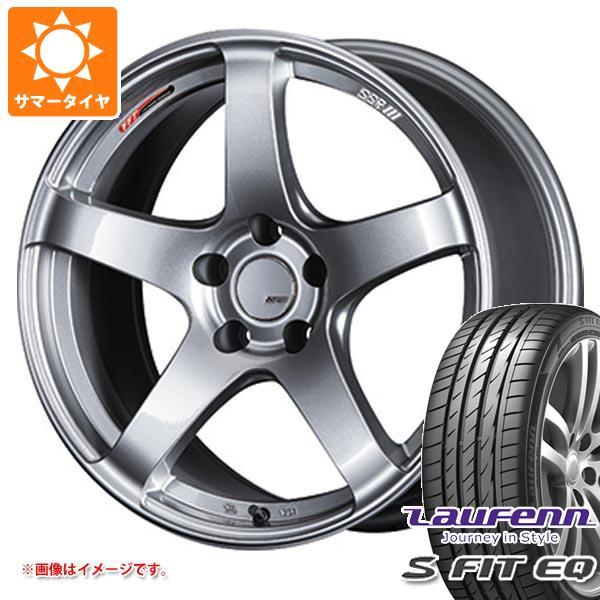 サマータイヤ 205/40R17 84W XL ラウフェン Sフィット EQ LK01 SSR GTV01 7.0-17 タイヤホイール4本セット