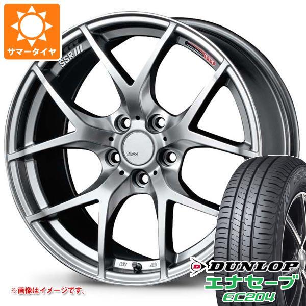 サマータイヤ 215/50R18 92V ダンロップ エナセーブ EC204 SSR GTV03 7.5-18 タイヤホイール4本セット