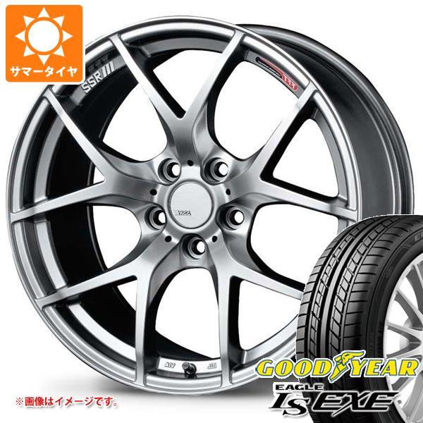 サマータイヤ 205/50R17 93V XL グッドイヤー イーグル LSエグゼ SSR GTV03 7.0-17 タイヤホイール4本セット