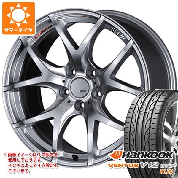 2020年製 サマータイヤ 205/45R17 88W XL ハンコック ベンタス V12evo2 K120 SSR GTV03 7.0-17 タイヤホイール4本セット