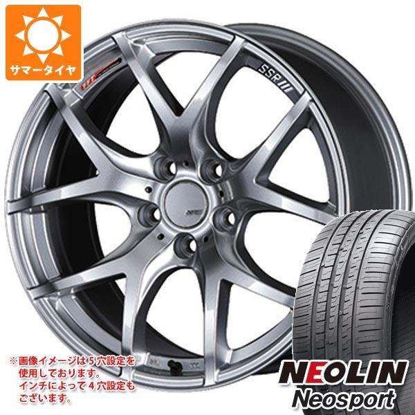 サマータイヤ 215/45R17 91W XL ネオリン ネオスポーツ SSR GTV03 7.0-17 タイヤホイール4本セット