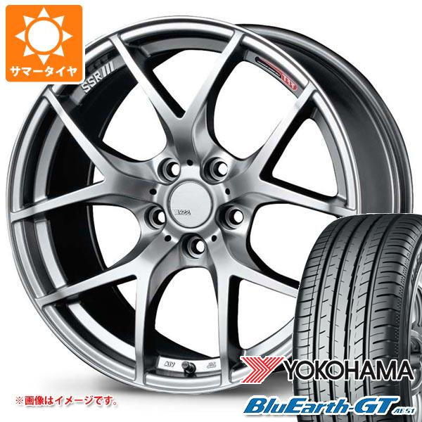 お気にいる サマータイヤ 245/45R18 100W 100W GTV03 XL SSR ヨコハマ ブルーアースGT AE51 SSR GTV03 8.5-18 タイヤホイール4本セット:タイヤ1番, ベンシュナ:6d8e44ae --- venets.net