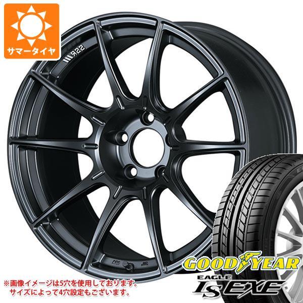 オリジナル サマータイヤ 215/50R17 95V XL グッドイヤー イーグル LSエグゼ SSR GTX01 7.0-17 タイヤホイール4本セット, コクブンジチョウ 412fa298