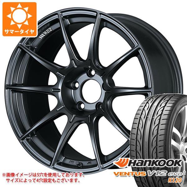 2020年製 サマータイヤ 245/40R18 97Y XL ハンコック ベンタス V12evo2 K120 SSR GTX01 8.5-18 タイヤホイール4本セット