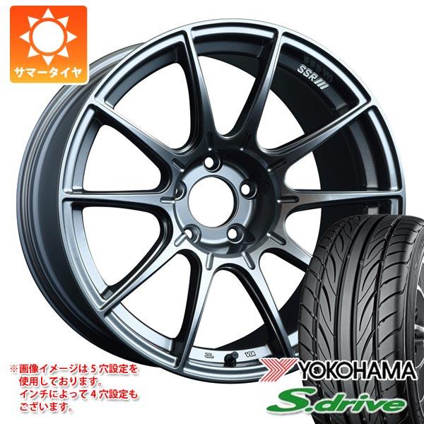 サマータイヤ 165/45R16 74V REINF ヨコハマ DNA S.ドライブ ES03N SSR GTX01 5.5-16 タイヤホイール4本セット