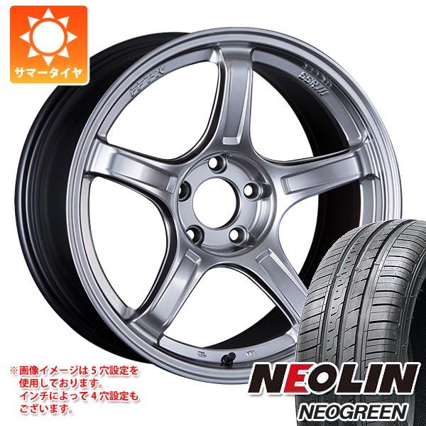 サマータイヤ 165/50R15 72V ネオリン ネオグリーン SSR GTX03 5.0-15 タイヤホイール4本セット