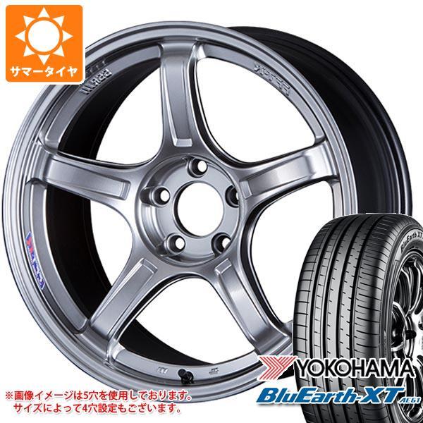 サマータイヤ 215/60R17 96H ヨコハマ ブルーアースXT AE61 SSR GTX03 7.0-17 タイヤホイール4本セット