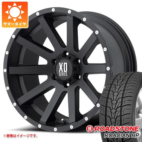 サマータイヤ 265/60R18 110H ロードストーン ローディアン HP KMC XD818 ヘイスト 8.0-18 タイヤホイール4本セット