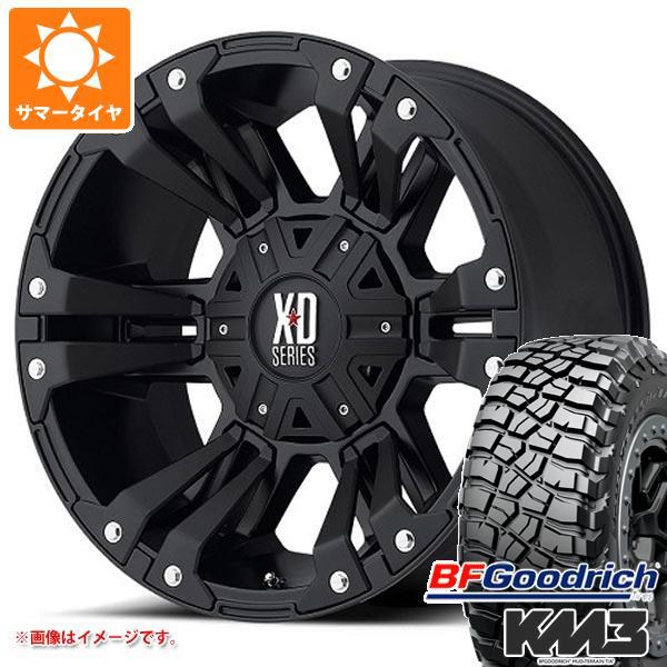 正規品 サマータイヤ 285/55R20 122/119Q BFグッドリッチ マッドテレーン T/A KM3 ブラックレター KMC XD822 モンスター2 9.0-20 タイヤホイール4本セット