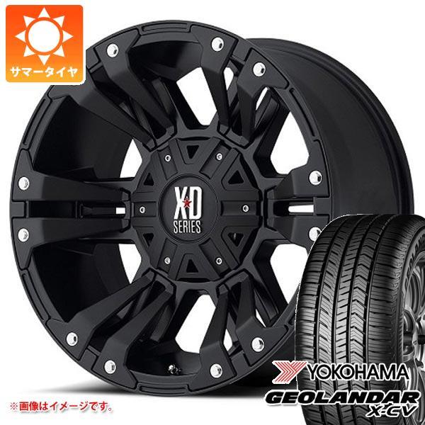 サマータイヤ 265/50R20 111W XL ヨコハマ ジオランダー X-CV G057 KMC XD822 モンスター2 9.0-20 タイヤホイール4本セット
