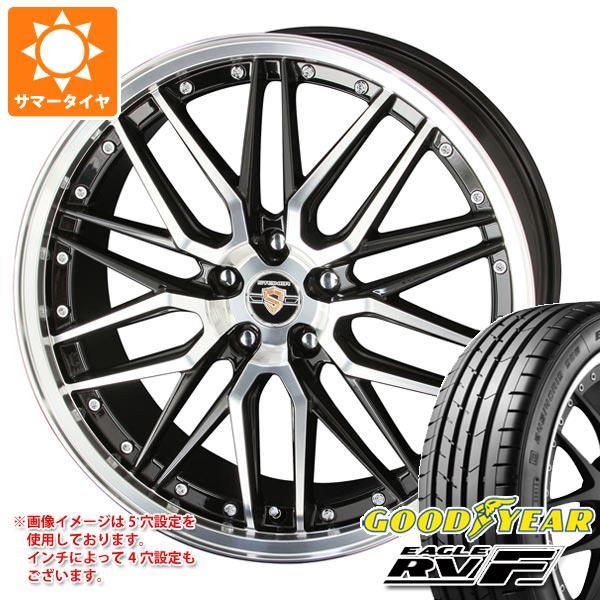 サマータイヤ 155/65R14 75H グッドイヤー イーグル RV-F シュタイナー LMX 4.5-14 タイヤホイール4本セット