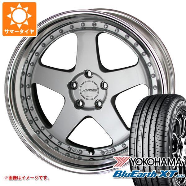 サマータイヤ 235/55R19 101V ヨコハマ ブルーアースXT AE61 シャレン VFX 8.0-19 タイヤホイール4本セット