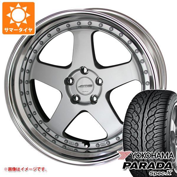 サマータイヤ 235/55R20 102V ヨコハマ パラダ スペック-X PA02 シャレン VFX 8.5-20 タイヤホイール4本セット