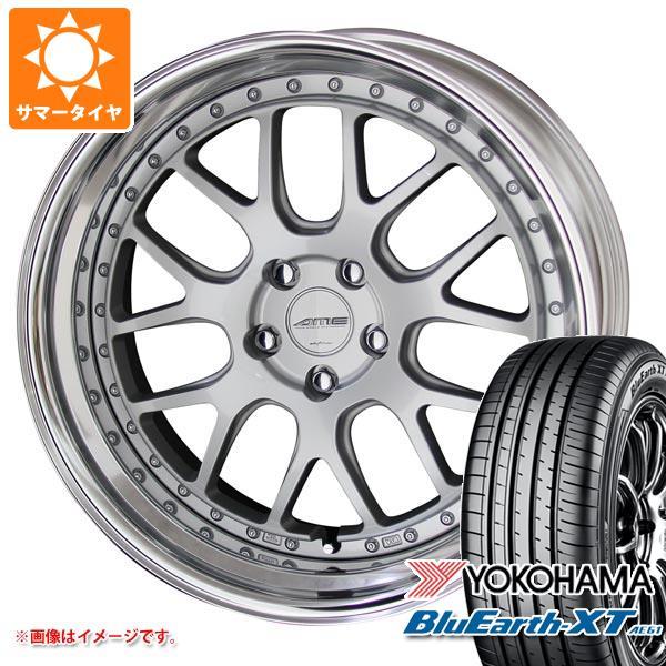サマータイヤ 235/55R19 101V ヨコハマ ブルーアースXT AE61 シャレン VMX 8.0-19 タイヤホイール4本セット