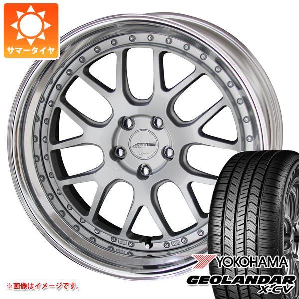サマータイヤ 235/55R19 105W XL ヨコハマ ジオランダー X-CV G057 シャレン VMX 8.0-19 タイヤホイール4本セット