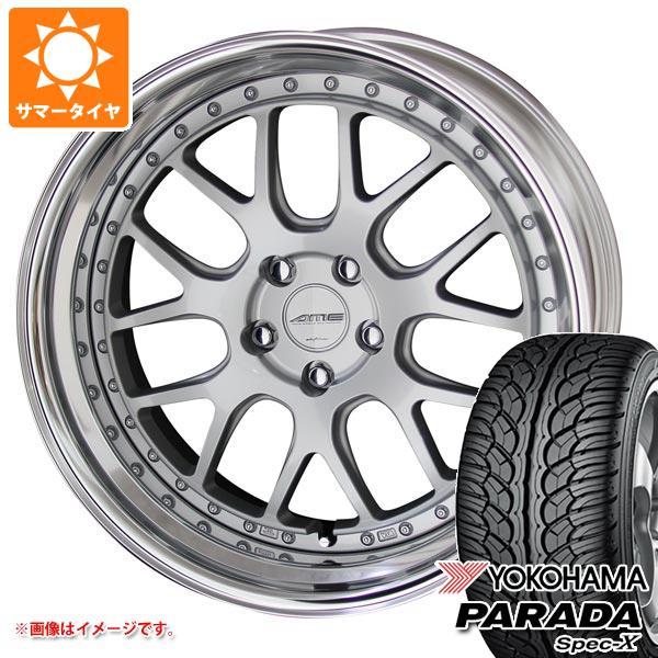 サマータイヤ 235/55R20 102V ヨコハマ パラダ スペック-X PA02 シャレン VMX 8.5-20 タイヤホイール4本セット