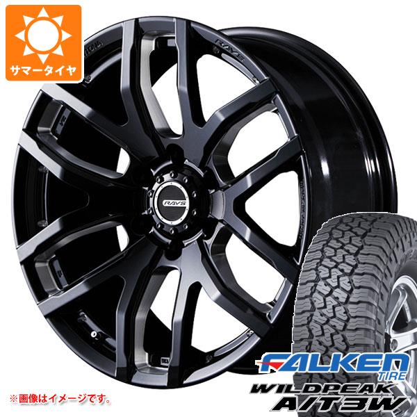 サマータイヤ 275/55R20 117T XL ファルケン ワイルドピーク A/T3W レイズ デイトナ FDX F6 B8 8.5-20 タイヤホイール4本セット