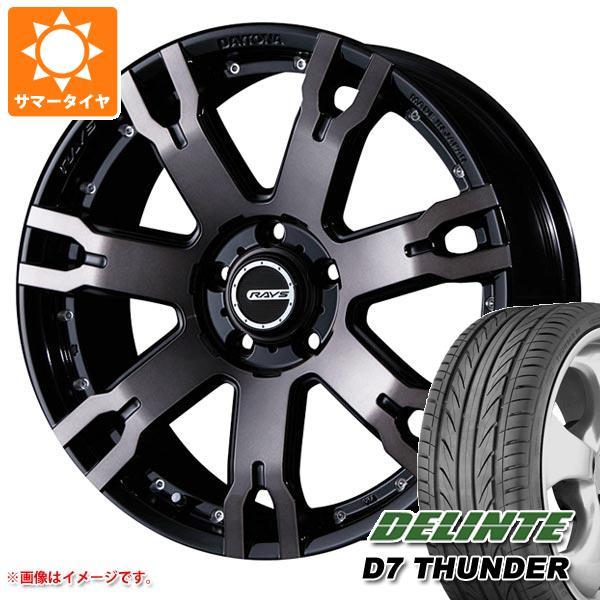 サマータイヤ 235/55R18 104V XL デリンテ D7 サンダー レイズ デイトナ FDX F7S KZ 7.5-18 タイヤホイール4本セット