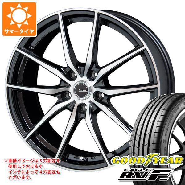 サマータイヤ 215/60R17 100H XL グッドイヤー イーグル RV-F ジースピード P-02 7.0-17 タイヤホイール4本セット