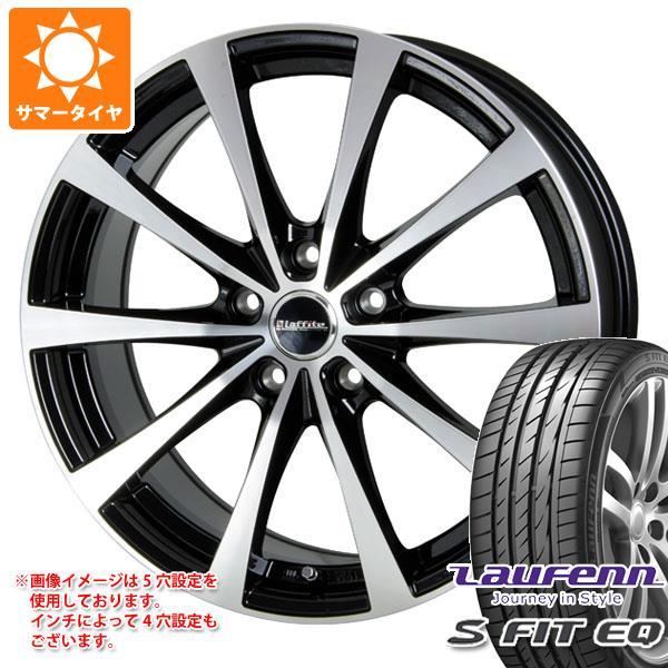 サマータイヤ 205/40R17 84W XL ラウフェン Sフィット EQ LK01 ラフィット LE-03 6.5-17 タイヤホイール4本セット