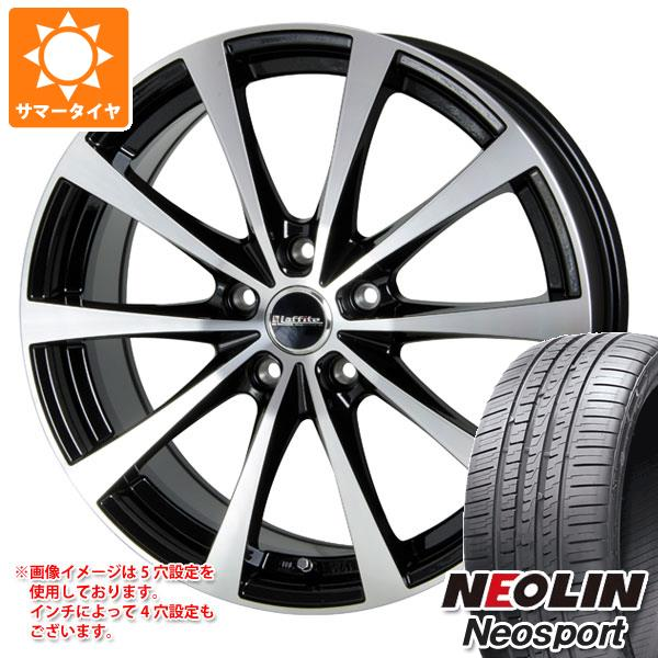 サマータイヤ 225/40R18 92W XL ネオリン ネオスポーツ ラフィット LE-03 7.5-18 タイヤホイール4本セット