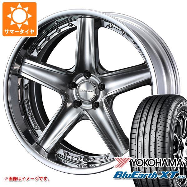 サマータイヤ 235/55R20 102V ヨコハマ ブルーアースXT AE61 マーベリック 1105S 8.5-20 タイヤホイール4本セット