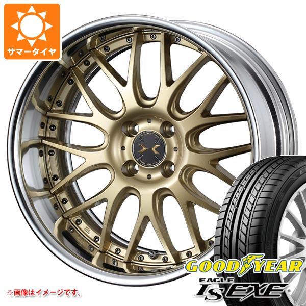 サマータイヤ 205/45R16 87W XL グッドイヤー イーグル LSエグゼ マーベリック 709M 軽・コンパクトカー用 6.5-16 タイヤホイール4本セット