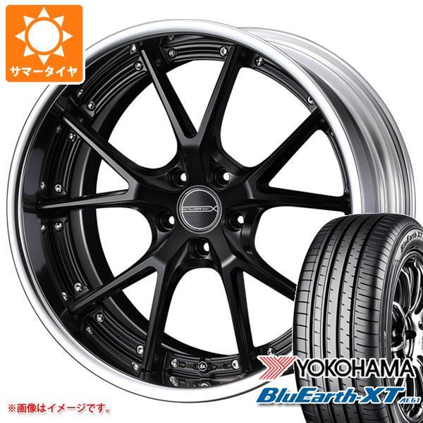サマータイヤ 235/55R20 102V ヨコハマ ブルーアースXT AE61 マーベリック 905S 8.5-20 タイヤホイール4本セット