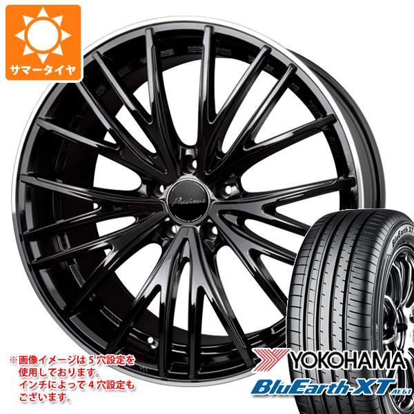 サマータイヤ 225/55R19 99V ヨコハマ ブルーアースXT AE61 2020年4月発売サイズ プレシャス アスト M1 8.0-19 タイヤホイール4本セット