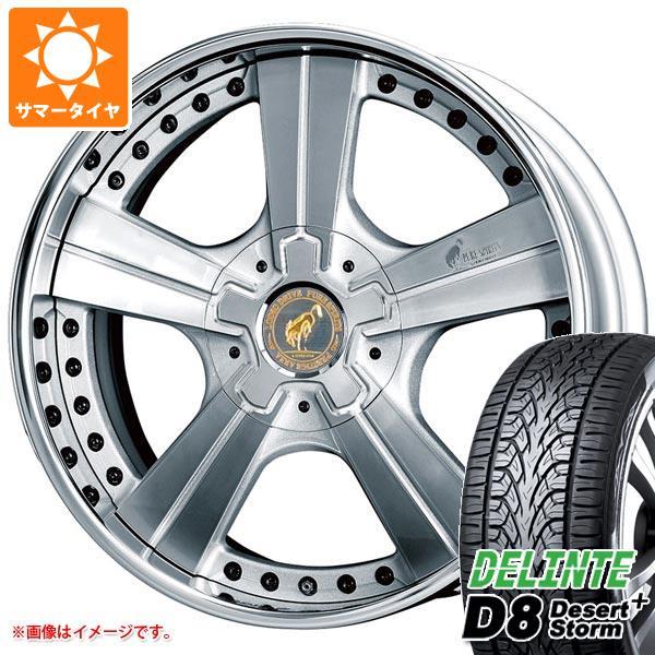 サマータイヤ 265/40R22 110V XL デリンテ D8 デザートストームプラス スーパースター ピュアスピリッツ オークス 8.5-22 タイヤホイール4本セット