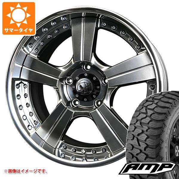 サマータイヤ 265/50R20 121/118S AMP テレーンアタック A/T スーパースター ピュアスピリッツ オークスXC 8.0-20 タイヤホイール4本セット