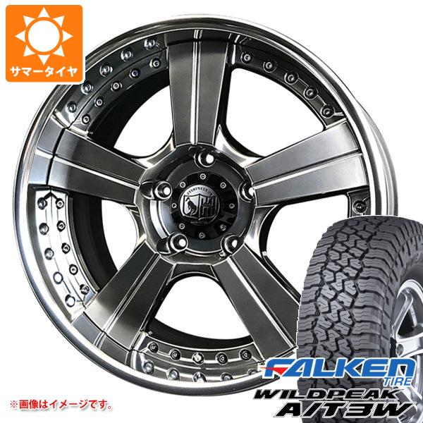サマータイヤ 285/55R20 122/119Q ファルケン ワイルドピーク A/T3W スーパースター ピュアスピリッツ オークスXC 8.0-20 タイヤホイール4本セット